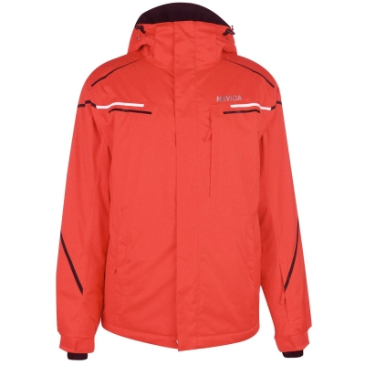 Geaca Ski Nevica Meribel pentru Barbati rosu negru
