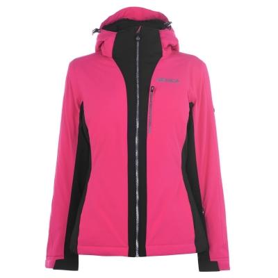 Geaca Ski Nevica Meribel pentru Femei roz negru