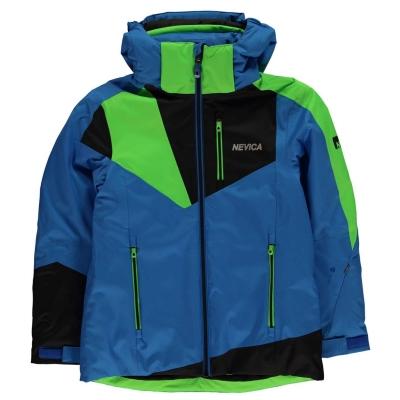 Geaca Ski Nevica Vali pentru baietei albastru verde