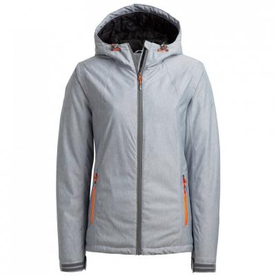 Geaca Ski Outhorn HOZ18 KUDN600A Cool gri deschis Melange femei