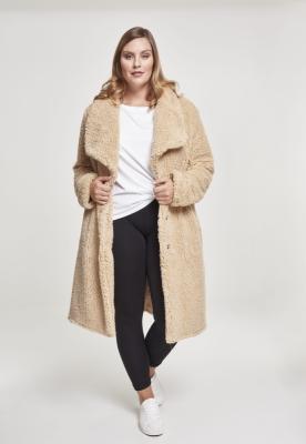 Geaca Soft Sherpa pentru Femei bej Urban Classics