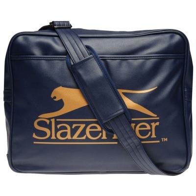 Geanta de Umar Slazenger Flash bleumarin auriu