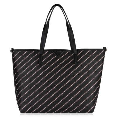 Geanta Karl Lagerfeld Large Shopper negru a999