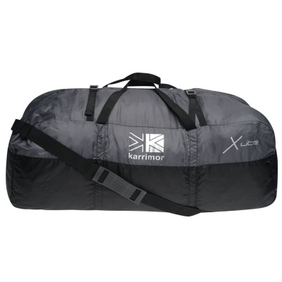 Geanta Karrimor Packable Duffle negru gri carbune