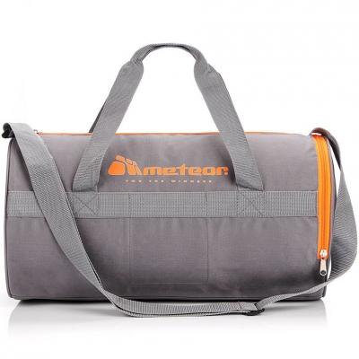 Geanta Meteor Siggy 25L Fitness gri-portocaliu 74552