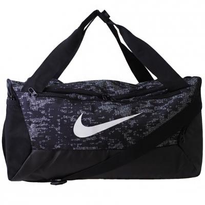 Geanta Nike Brasilia S Duff 90 negru And alb BA5958 010