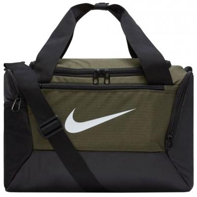 Geanta Nike Brasilia XS Duffel 9.0 verde-negru BA5961 325
