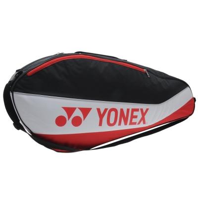 Geanta rachete tenis Yonex Club 3 negru rosu