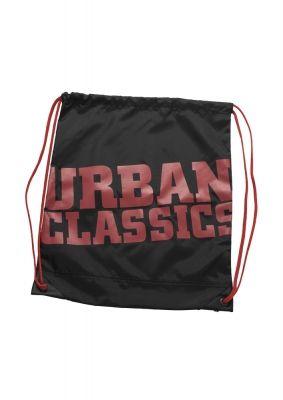 Genti sala cu snur negru-rosu Urban Classics