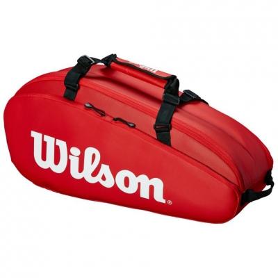 Geanta Wilson Tour 2 Comp Small tenis rosu WRZ847909