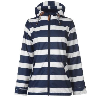 Geci Impermeabile Gelert Coast pentru Femei bleumarin alb stripe