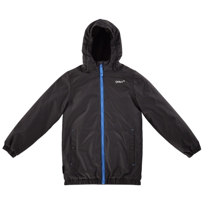 Jacheta Gelert Horizon cu captuseala pentru baietei negru