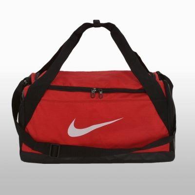 Geanta de sala rosie Nike Brasilia Small Duff Unisex adulti