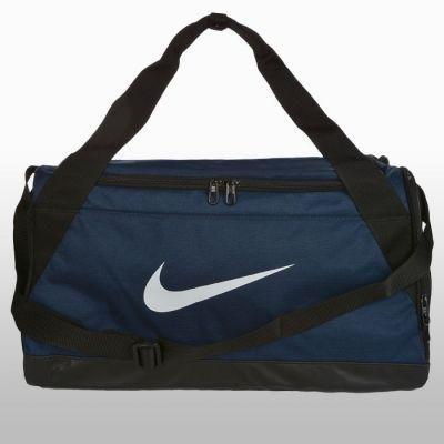 Geanta albastra de sala Nike Nk Brsla S Duff Unisex adulti