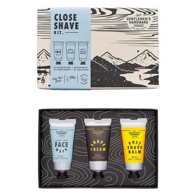Gentlemens Hardware Close Shave Kit multicolor