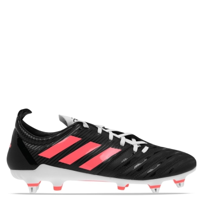 Ghete adidas Malice Rugby gazon sintetic pentru Barbati negru roz