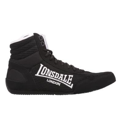 Ghete box Lonsdale Contender pentru Barbati negru alb
