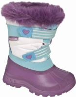 Ghete copii Frost Purple Trespass