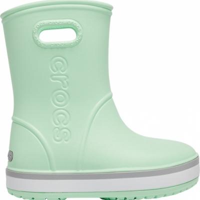 Ghete Crocs ploaie s For Crocband ploaie verde 205 827 3TO pentru Copii pentru Copii