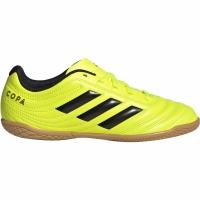 Ghete de fotbal Adidas Copa 194 IN galben F35451 pentru copii pentru femei