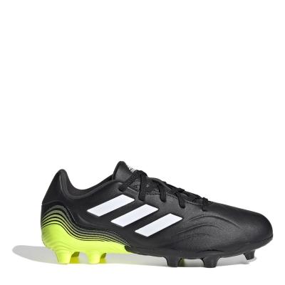 Ghete de fotbal adidas Copa .3 FG pentru copii negru galben