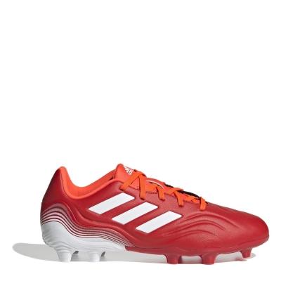 Ghete de fotbal adidas Copa .3 FG pentru copii rosu