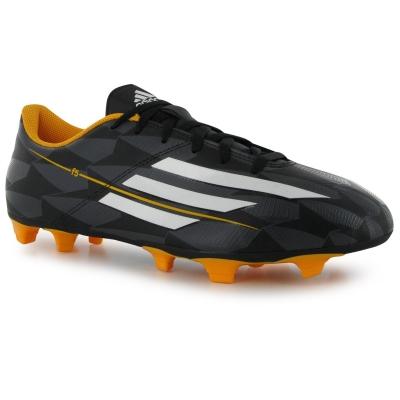 Ghete de fotbal adidas F5 TRX FG pentru Barbati negru alb