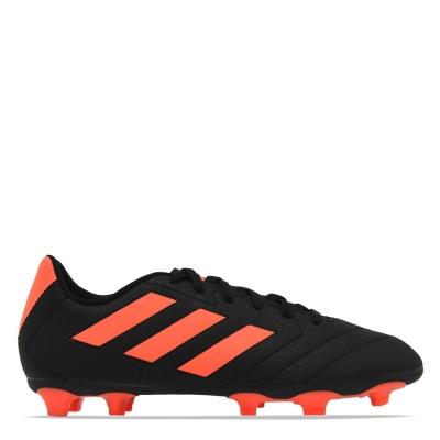 Ghete de fotbal adidas Goletto FG pentru copii negru rosu