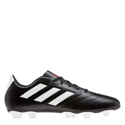 Ghete de fotbal adidas Goletto VII Firm Ground negru alb