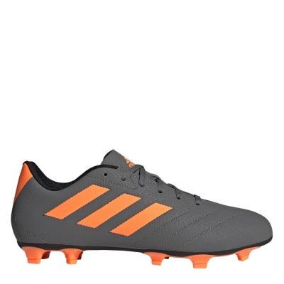 Ghete de fotbal adidas Goletto VII Firm Ground gri portocaliu