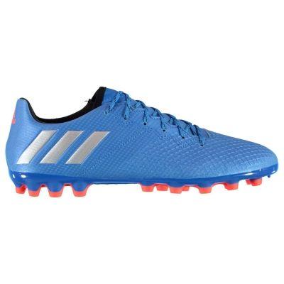 Ghete de fotbal adidas Messi 16.3 gazon sintetic pentru Barbati albastru argintiu negru