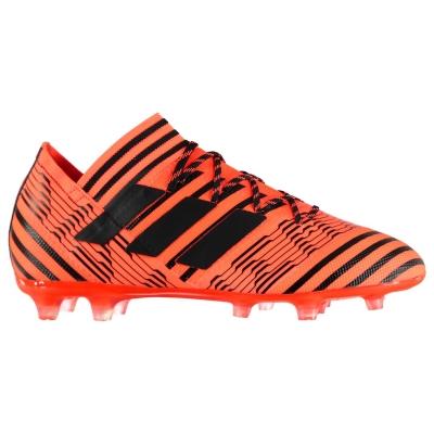 Ghete de fotbal adidas Nemeziz 17.2 FG pentru Barbati portocaliu negru