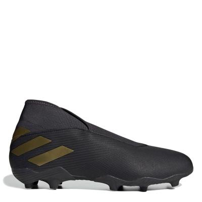 Ghete de fotbal adidas Nemeziz 19.3 Firm Ground negru