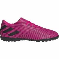 Ghete de fotbal Adidas Nemeziz 194 gazon sintetic roz F34523 pentru barbati