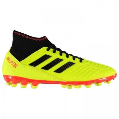 Ghete de fotbal adidas Predator 18.3 AG pentru Barbati galben negru