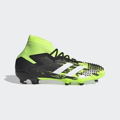 Ghete de fotbal adidas Predator 20.1 FG pentru Copii signgreen negru