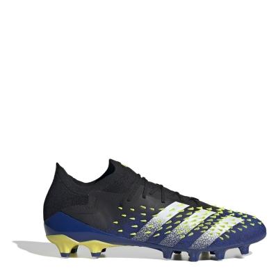Ghete de fotbal adidas Predator Freak .1 Low AG negru galben