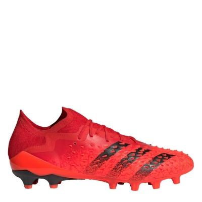 Ghete de fotbal adidas Predator Freak .1 Low AG rosu
