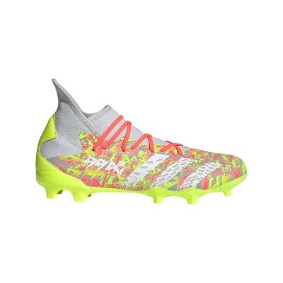 Ghete de fotbal adidas Predator Freak .3 FG onix alb galben
