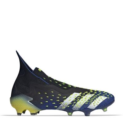 Ghete de fotbal adidas Predator Freak + FG negru galben