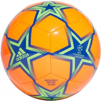 Mingi de fotbal Adidas UCL Club Pyrostorm Ball portocaliu-albastru GU0203