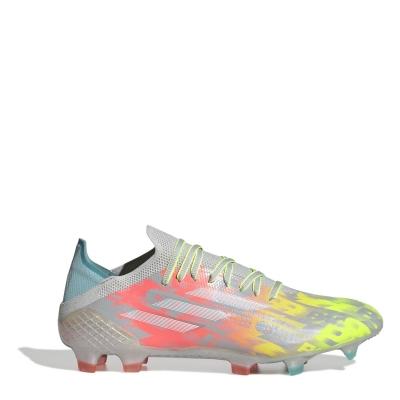 Ghete de fotbal adidas X .1 FG onix alb galben