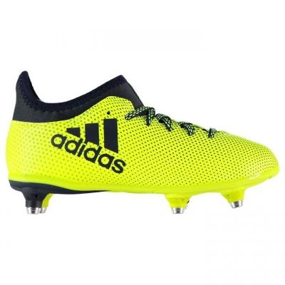 Ghete de fotbal adidas X 17.3 galben ink
