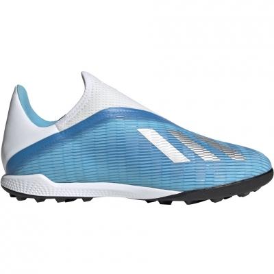 Ghete de fotbal Adidas X 193 LL gazon sintetic albastru alb EF0632 pentru barbati
