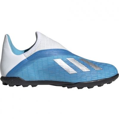 Ghete de fotbal Adidas X 193 LL gazon sintetic albastru EF9123 pentru copii
