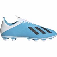 Ghete de fotbal Adidas X 194 FxG albastru alb F35378 pentru femei