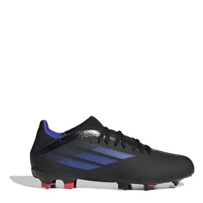Ghete de fotbal adidas X .3 FG pentru copii negru sonicink