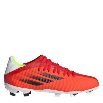Ghete de fotbal adidas X .3 FG pentru copii rosu