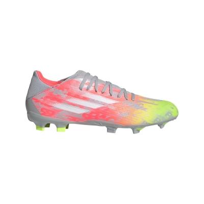 Ghete de fotbal adidas X .3 Firm Ground onix alb galben