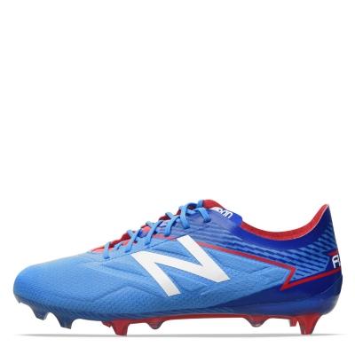 Ghete de fotbal New Balance Furon 3.0 FG bolt team albastru roial